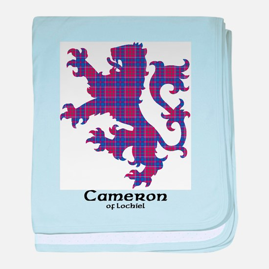 Lion-Cameron of Lochiel baby blanket