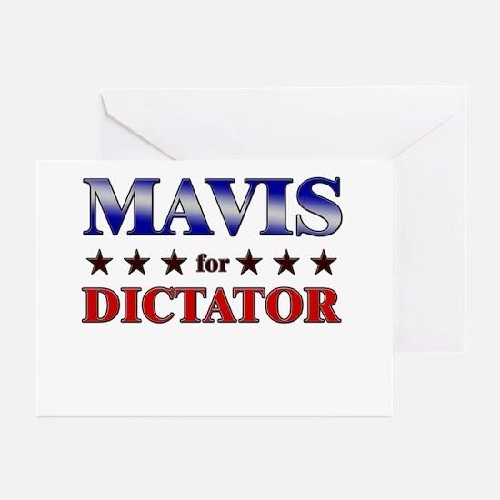 MAVIS for dictator Greeting Cards (Pk of 20)