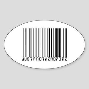 Drone Oval Sticker