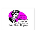 Cold Dead Fingers Postcards (Package of 8)