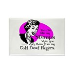 Cold Dead Fingers Rectangle Magnet (100 pack)