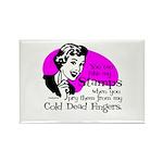 Cold Dead Fingers Rectangle Magnet (10 pack)