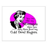 Cold Dead Fingers Small Poster