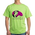 Cold Dead Fingers Green T-Shirt