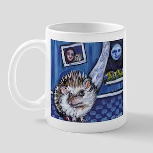 HEDGEHOG whimsical art Mug
