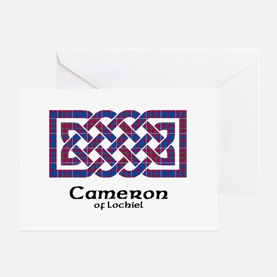 Knot-Cameron of Lochiel Greeting Card