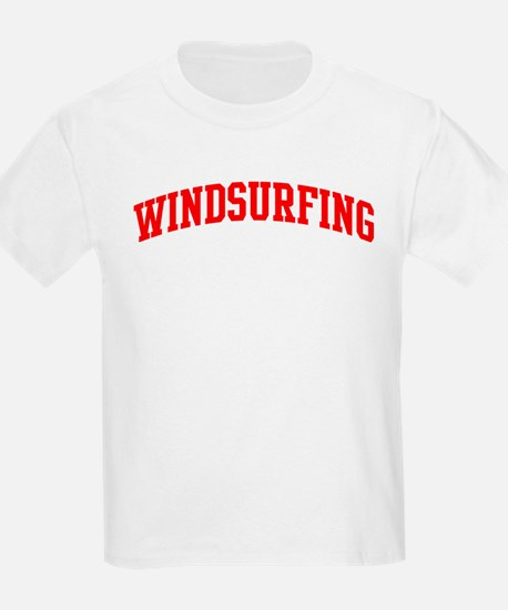 Windsurfing (red curve) T-Shirt