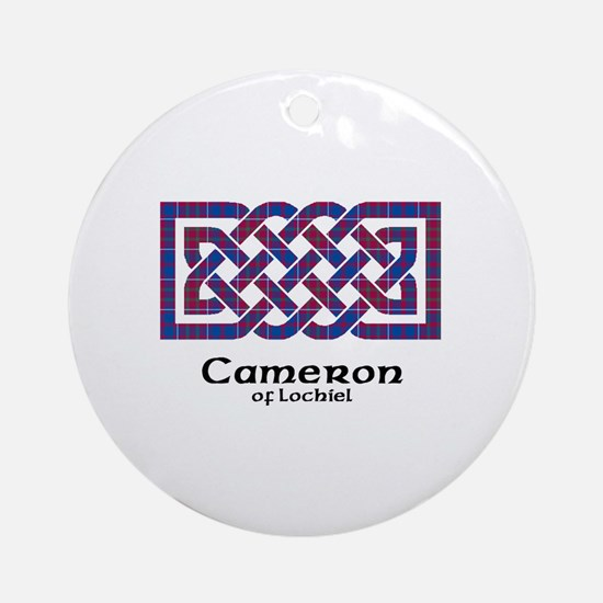 Knot-Cameron of Lochiel Round Ornament