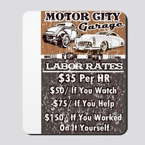 MC GARAGE Mousepad