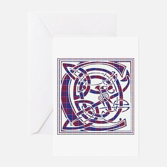 Monogram-Cameron of Lochiel Greeting Card