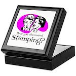 Discovered Stamping Keepsake Box