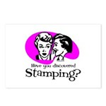 Discovered Stamping Postcards (Package of 8)