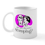 Discovered Stamping Mug