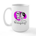 Discovered Stamping Large Mug