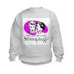 Discovered Stamping Kids Sweatshirt