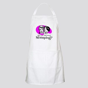Discovered Stamping BBQ Apron
