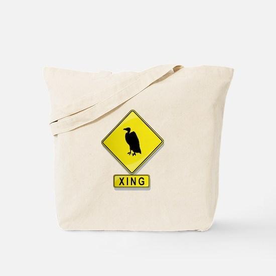 Buzzard XING Tote Bag