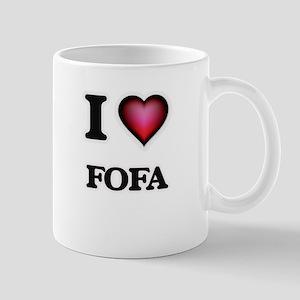 I Love FOFA Mugs