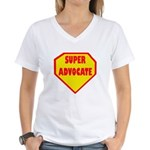 Super Advocate Women's V-Neck T-Shirt