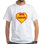 Super Advocate White T-Shirt