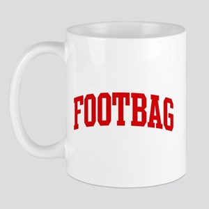 Footbag (red curve) Mug
