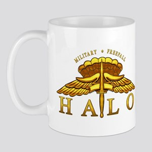 Golden Halo Badge Mug