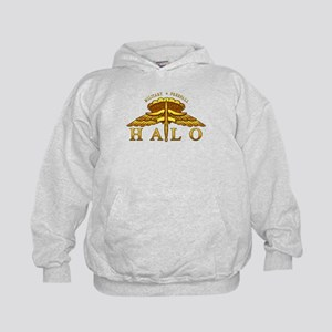 Golden Halo Badge Kids Hoodie