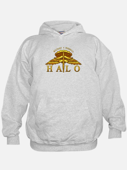 Golden Halo Badge Hoodie