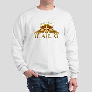 Golden Halo Badge Sweatshirt