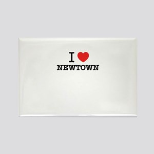 I Love NEWTOWN Magnets
