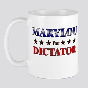 MARYLOU for dictator Mug