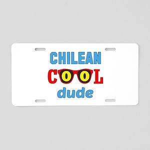 Chilean Cool Dude Aluminum License Plate
