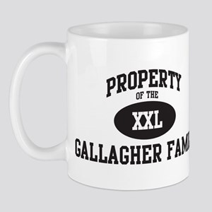 Property of Gallagher Family Mug