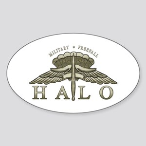 Halo Badge Oval Sticker