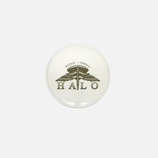 Halo Badge Mini Button