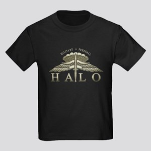 Halo Badge Kids Dark T-Shirt