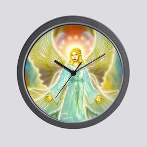 heavenly angel Wall Clock
