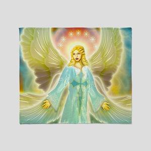 heavenly angel Throw Blanket