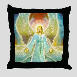 heavenly angel Throw Pillow