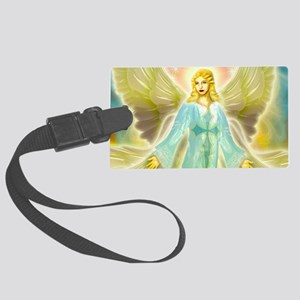heavenly angel Large Luggage Tag