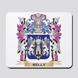 Kelly Coat of Arms - Family Crest Mousepad