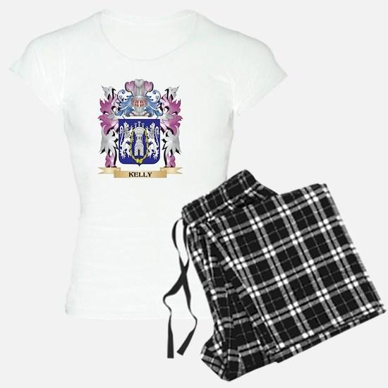 Kelly Coat of Arms - Family Pajamas