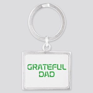 GRATEFUL DAD Keychains
