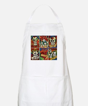 Day of the Dead Sugar Skulls Apron