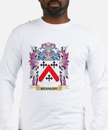 Kennedy- Coat of Arms - Family Long Sleeve T-Shirt