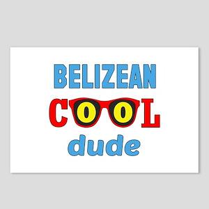 Belizean Cool Dude Postcards (Package of 8)