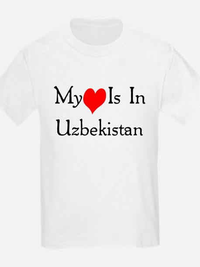 My Heart Is In Uzbekistan T-Shirt