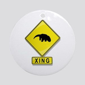 Anteater XING Ornament (Round)