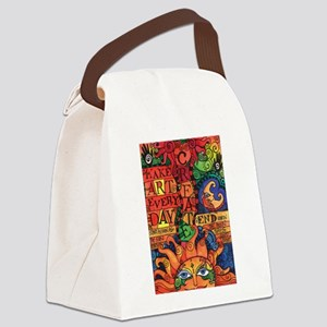 Inspirational Create Art Every Da Canvas Lunch Bag