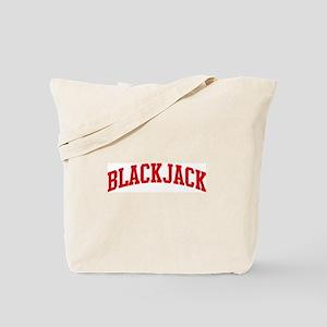 Blackjack (red curve) Tote Bag